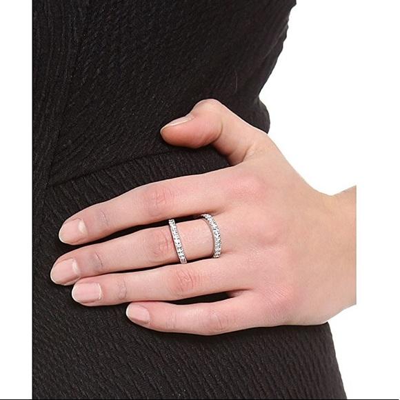 Rebecca Minkoff Jewelry - Rebecca Minkoff Pave Split Ring
